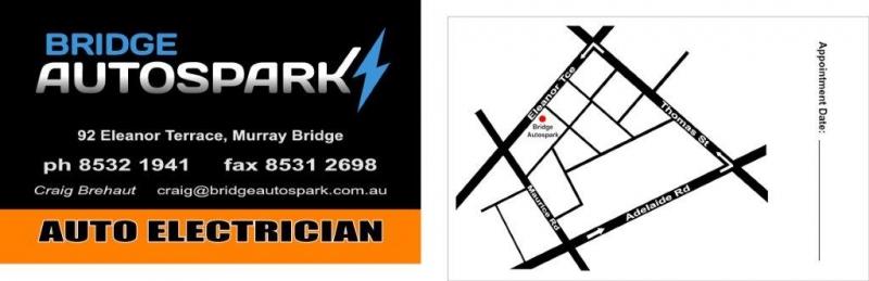Autospark Business Cards