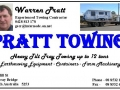 Pratt Towing Business Card 1