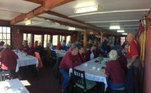 ACCMB members enjoying the morning tea cruise.